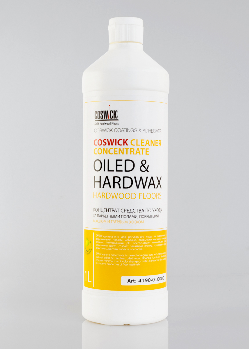 Cleaner Concentrate for Oiled Floors